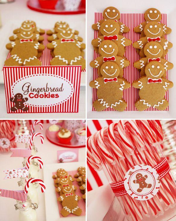 A Festive Christmas Candyland Theme