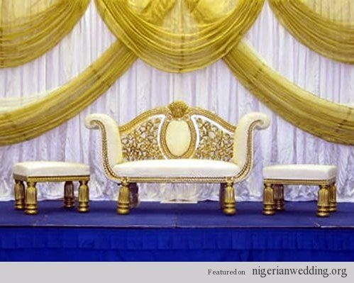 64 best nigerian wedding images on pinterest wedding decor wedding stage decoration wedding stage decoration indian wedding like the way the fabric is draped junglespirit Images
