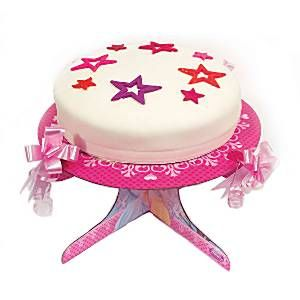 Disney Princess Sparkle Cake Stand - 1 Tier
