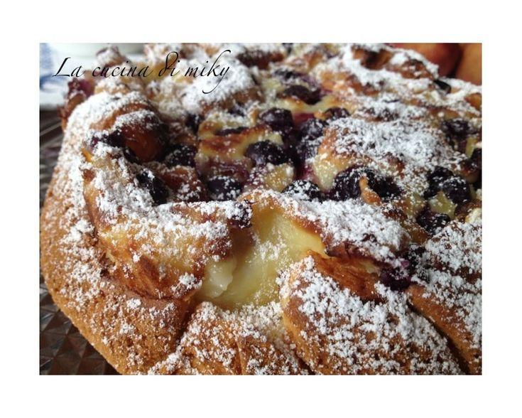 La Torta Nua ai mirtilli é un'altra variante super golosa di questo fantastico dolce in versione senza glutine assolutamente da provare che vi conquisterà!