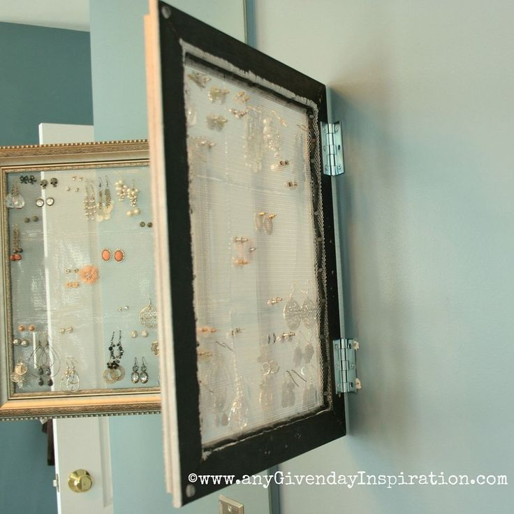DIY Earring Holder / Display :: Hometalk