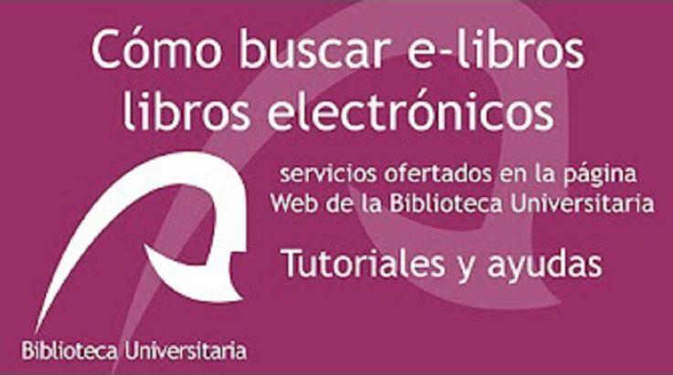 """CÓMO BUSCAR LIBROS ELECTRÓNICOS (2017). Vídeo tutorial, realizado por la Biblioteca de Ciencias Básicas de la ULPGC, en el que se indica a los usuarios de la Biblioteca cómo buscar libros electrónicos ya sea a través del buscador """"Libros-e"""", de """"e-BULibros"""", portal que gestiona el préstamo de libros electrónicos o de """"Portales de libros-e""""."""