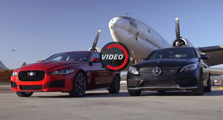 Mercedes-AMG C43 And Jaguar XE 35t Fight For The Title Of The Sportiest Sedan