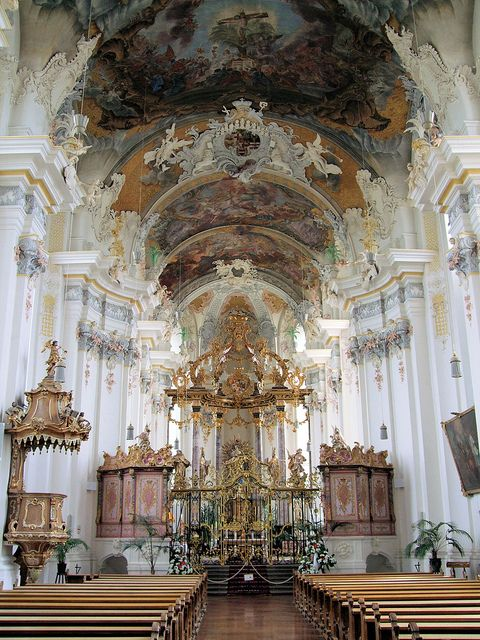 The churches in Trier are breathe taking... I remember walking through them with Christie and Carla - great vacation!! Saint Paulin Church, Trier - Germany. by Jim Linwood, via Flickr