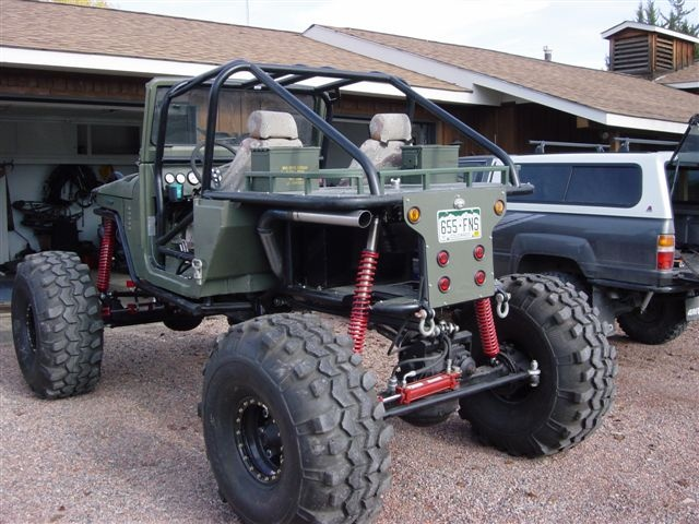 Beast Mode exceeded!  Rockwell axle based Rock Crawler http://rockwellrebuildmanual.com