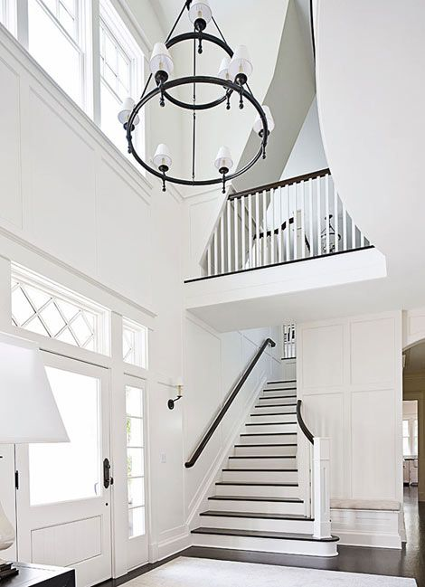 Gorgeous entrance and stairs