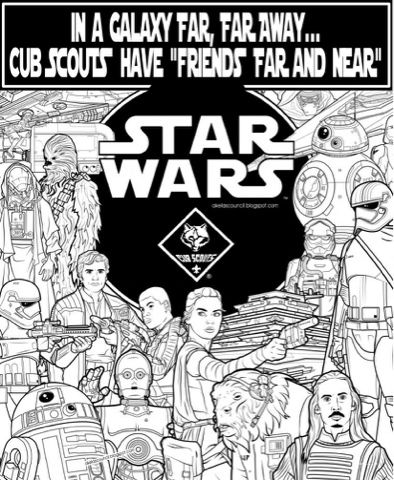 Star Wars as a Theme for 2016 Cub Scout Blue