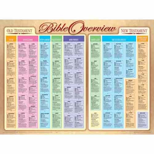 Bible Overview Wall Chart