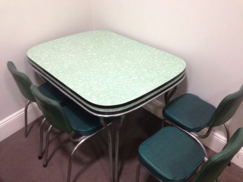 retro dining room laminex table with 4 chairs in sydney nsw ebay