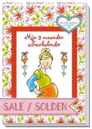 Mijn 9 Maanden Sheurkalender, Pauline Oud. 280 dagen met feiten, ervaringen en tips! Elke dag een moment om even stil te staan bij je zwangerschap :)