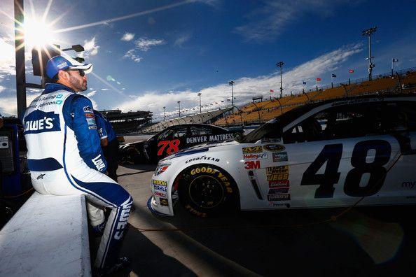 Jimmie Johnson Photos - Las Vegas Motor Speedway - Day 3 - Zimbio
