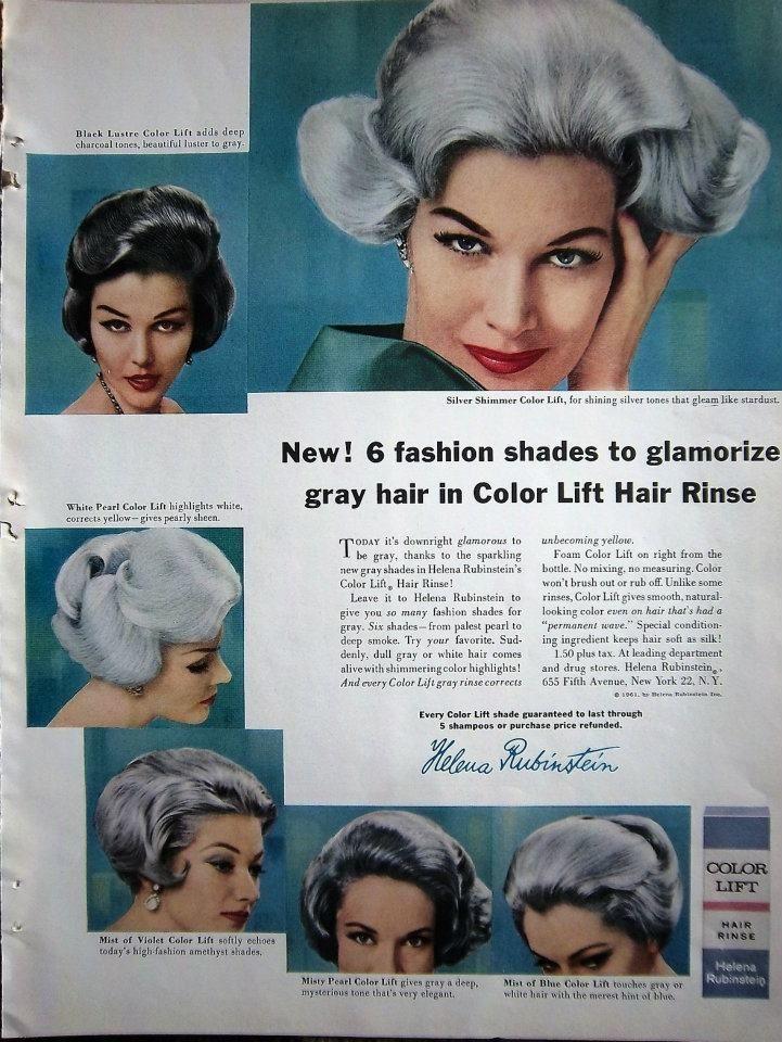 Hair Styles. 1960s