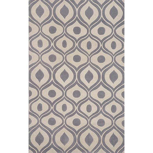 momeni area rug bliss grey x 5 x 8 rugs rugs macyu0027s