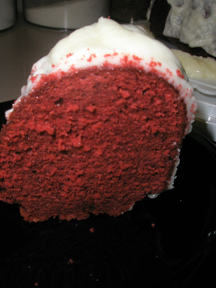 Red Velvet Pound Cake From Paula Deen's Holiday Baking magazine 2008