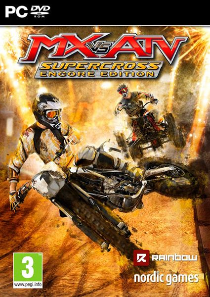 Rip, jump and scrub your way around 17 tracks and try to cross the finishing line first. Publisher: Nordic Games Developer: Rainbow Studios Platform: PC, PS4 Release Date: 27/10/2015 #videogames #racing #PC #MX #ATV #Supercross #Nordic_Games #Rainbow_Studios