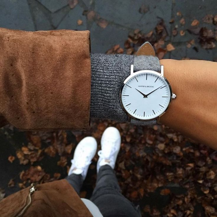 HARPER & BROOKS | Minimalistic silver watch