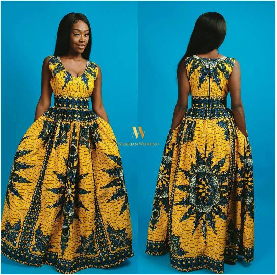 Latest Ankara Maxi Dresses 10