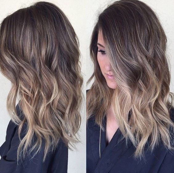 Medium Hairstyles For Everyday : Best shoulder length balayage ideas on