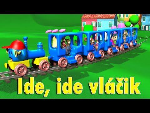 Ide ide vláčik + 12 pesničiek   Zbierka   18 minútový mix   Slovenské detské pesničky - YouTube