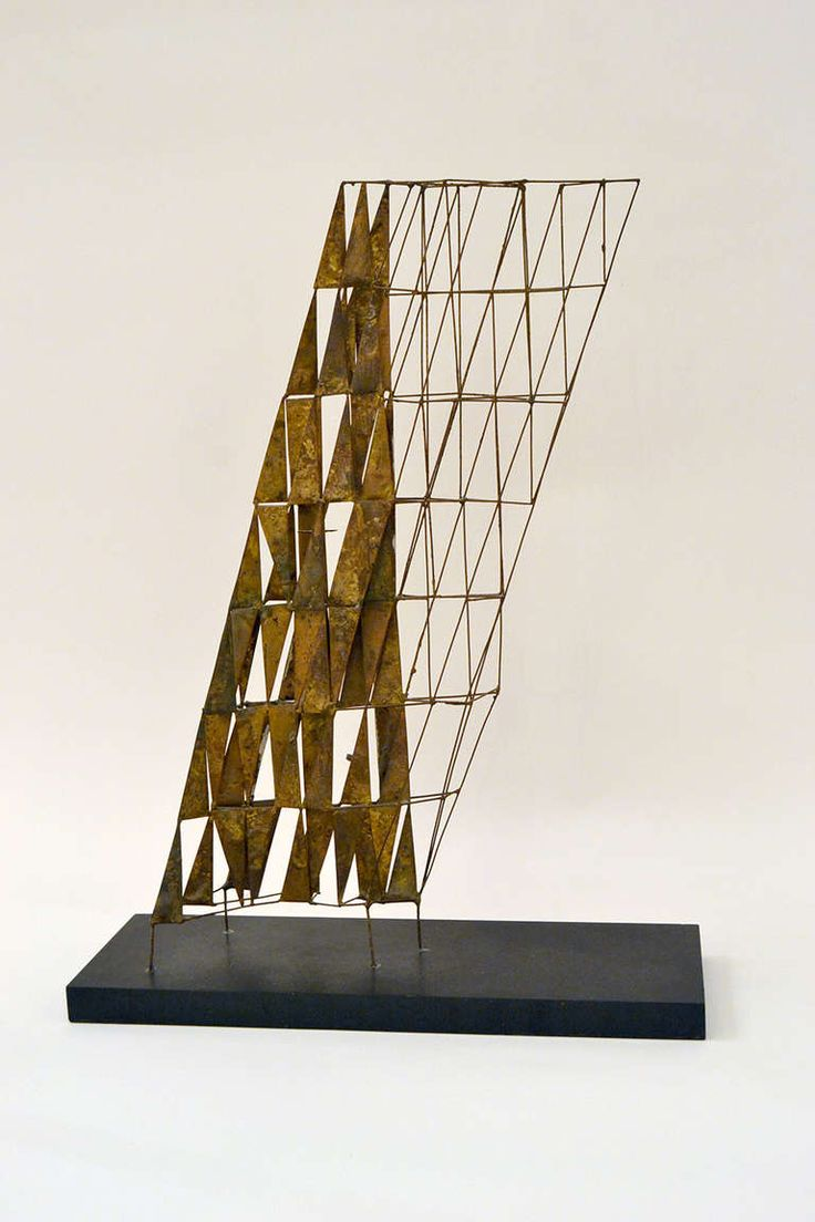 early maquette by Harry Bertoia