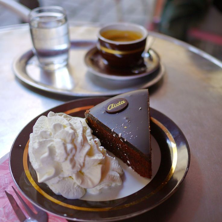 Sachertorte is a type of chocolate cake that was invented in Vienna in 1832, and it remains one of the city's most famous foods.