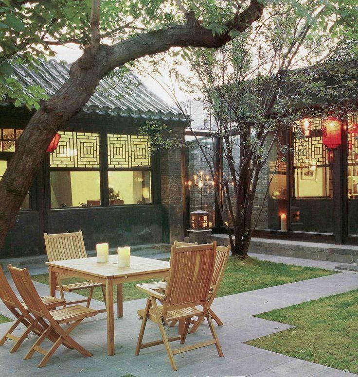 Interior Courtyard Garden Home: 25+ Best Ideas About Chinese Courtyard On Pinterest