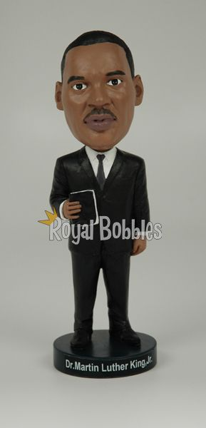 This officially licensed Dr. Martin Luther King, Jr. #bobblehead is very high quality and is carefully packaged in a colorful collectors box. #RoyalBobbles