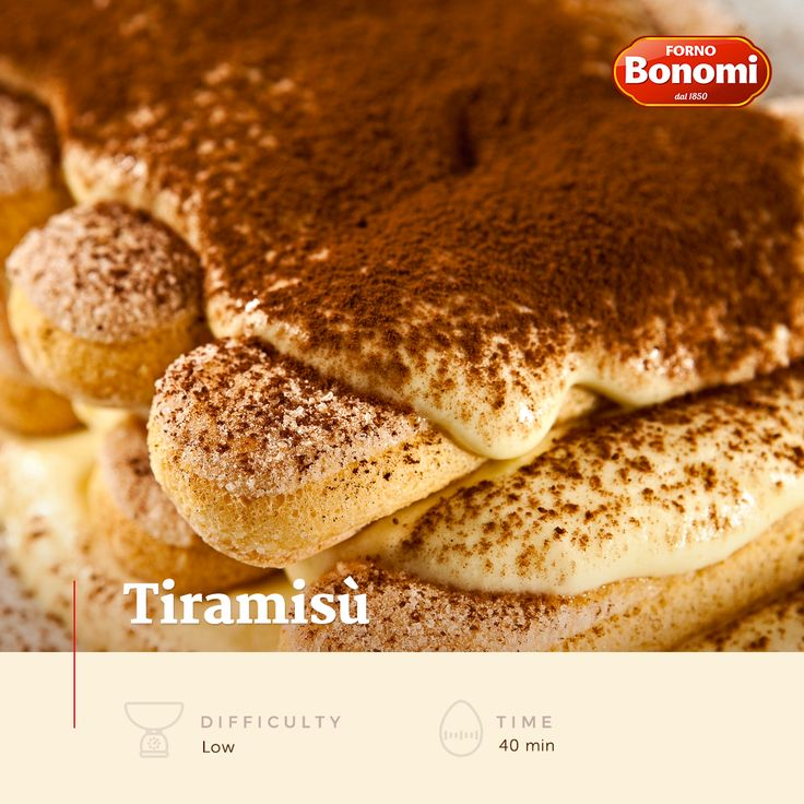 Tiramisù, how lovely! Ladyfingers, Mascarpone cheese, Strong warm coffee, sugar, eggs and bitter cocoa, that's what you need!