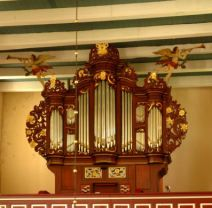 Arle, St. Bonifatius, Müller-Rohlfs-Orgel