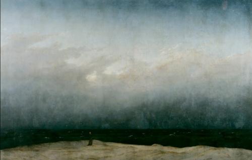 Caspar David Friedrich, Monk by the Sea,1808 or 1810