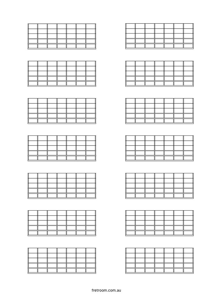 16 Best Templates Images On Pinterest | Crossword, Guitar And
