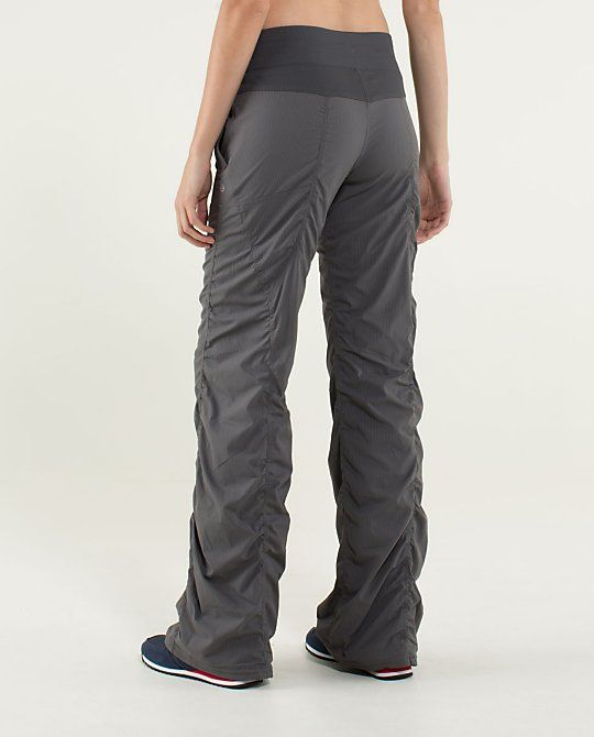 Lululemon Studio Pant - good comfy pant alternative to yoga pants, and come in capri too.