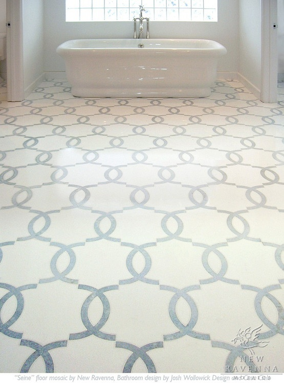 Marble Mosaic Floor Tile tundra grey 2 x 4 beveled 12 in x 12 in x 10 mm Mosaic Floor Tile Are Very Popular In Bathroom Design