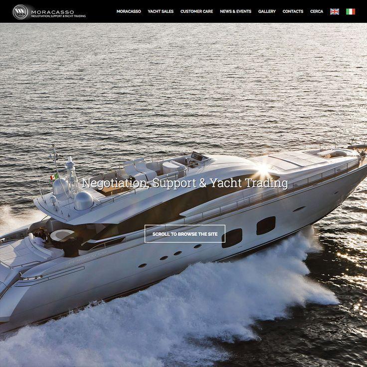 Siamo online con il nuovo sito web Moracasso - Negotiation, Support & Yacht Trading. Vieni a scoprire le novità: www.moracasso.com