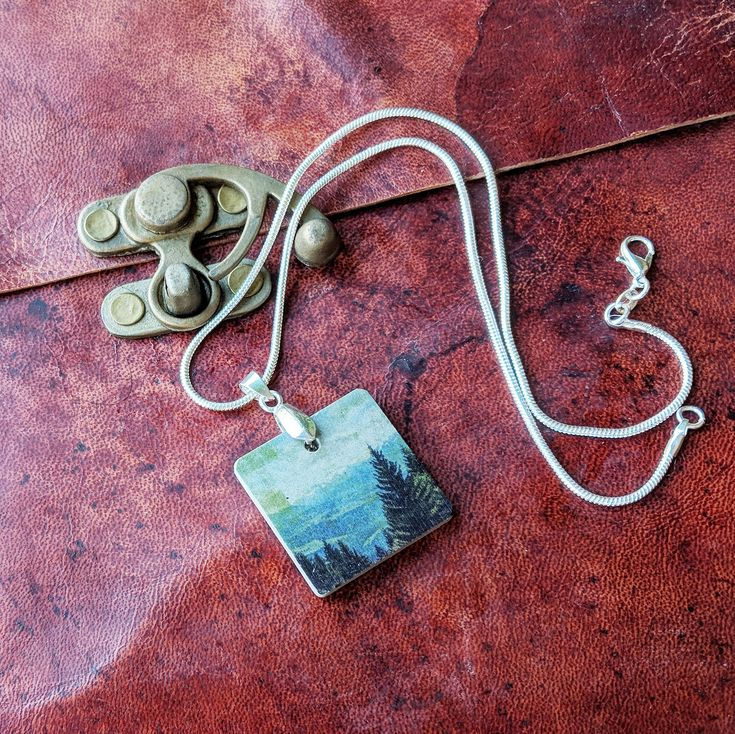 Wanderlust Painting Unusual Concrete Jewellery Gift Set – Products