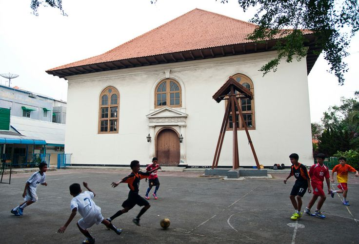 Jakarta Dulu dan Kini (foto perbandingan)-----椰加达的今昔(组图)