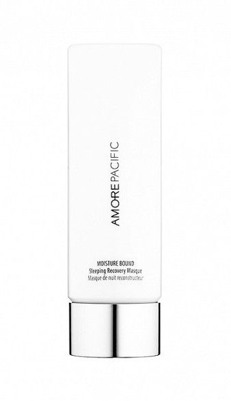 AmorePacific created a light and luxurious overnight mask that features a potent blend of Asian botanicals. // Moisture Bound Sleeping Recover Mask by AmorePacific