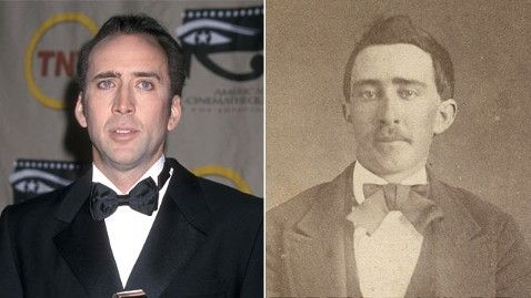 Nicolas Cage denies he's a vampire, but if you were a vampire, wouldn't you deny it, too?