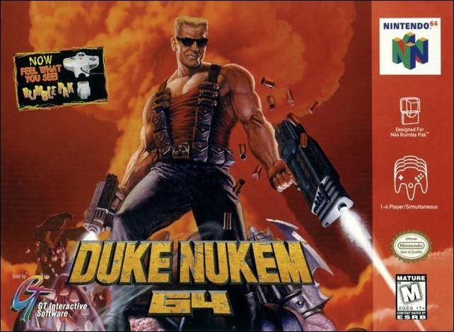 Duke Nukem 64 for Nintendo 64 @ www.thegamingwarehouse.com/duke-nukem-64-for-nintendo-64/