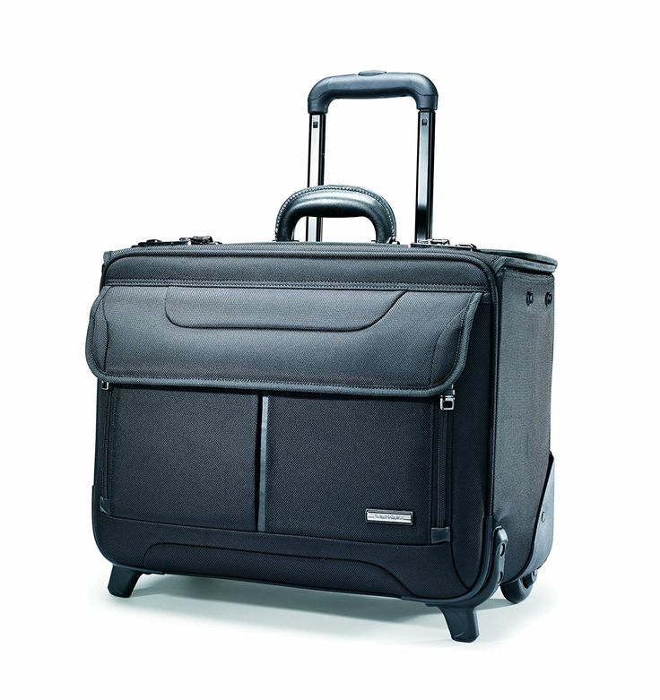 Samsonite Wheeled Catalog Case, 17-1/4 x 7-1/2 x 13 Inches, Black (458311041): Amazon.ca: Luggage & Bags
