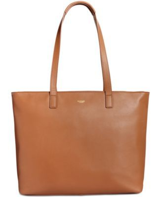 Knomo London Leather Laptop Tote $299.00 A classic look in rich leather provides modern function. This laptop tote from Knomo London has padded protection for a computer plus pockets to keep essentials organized.
