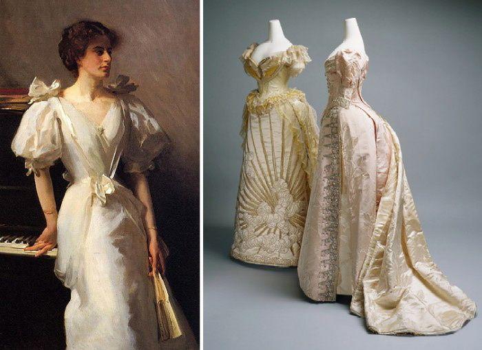 Мода викторианской эпохи