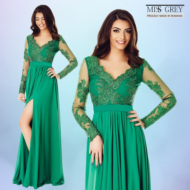 Start your summer in style wearing a vaporous and sophisticated green dress, that will ensure you a gracious and elegant appearance.