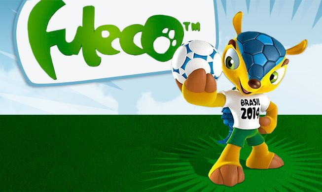 2014 #FIFA WORLD CUP™ OFFICIAL #MASCOT: #Fuleco