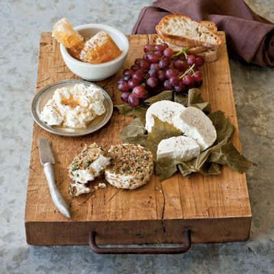 Country #cheese platter. Yum!