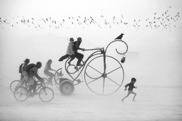 Сказочные фотографии с фестиваля Burning Man