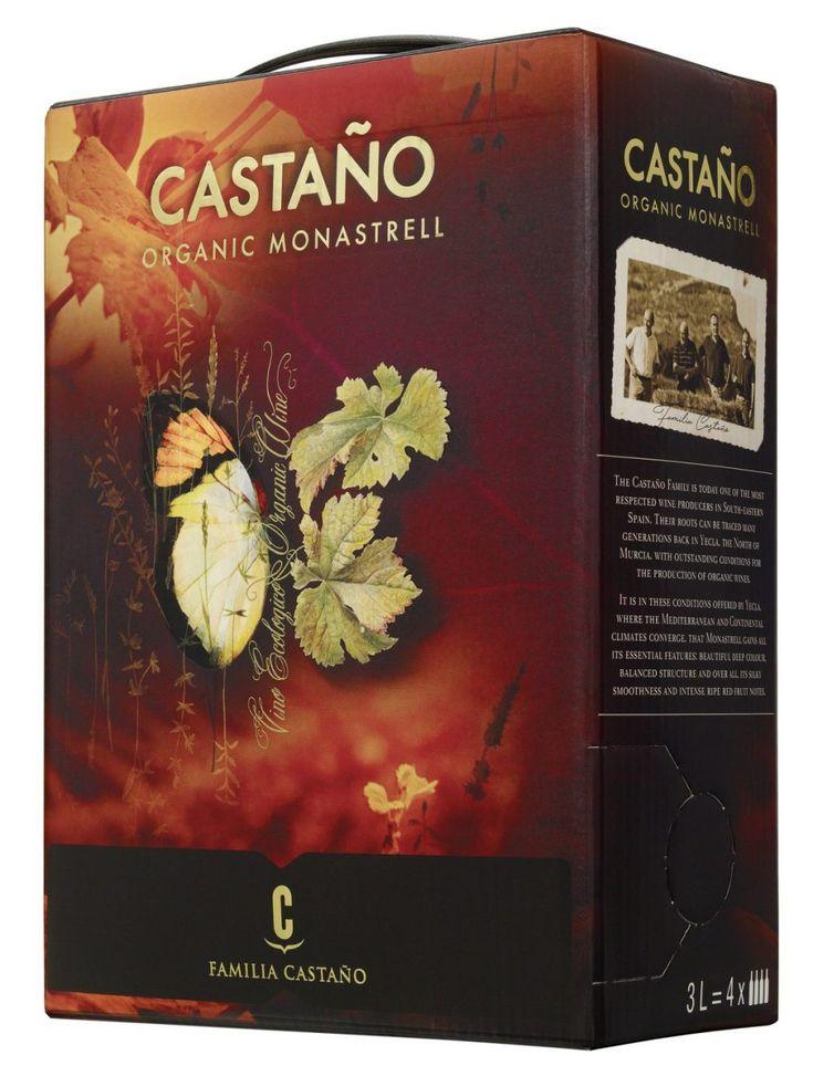 Castano Organic Monastrell 2016 - ekologiskt och veganskt vin på box som kommer 1 december till Systembolaget. Senses.se har testat: http://www.senses.se/castano-organic-monastrell/
