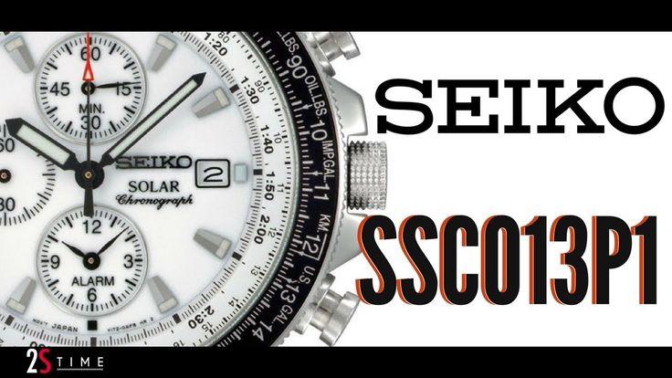 Seiko Solar Chronograph SSC013P1 Pilot Flighmaster #seiko #solar #chronograph #ssc013p1 #pilot #flightmaster #men #wristwatch