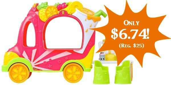 Shopkins Shoppies Juice Truck Only $6.74 (Reg. $25)!