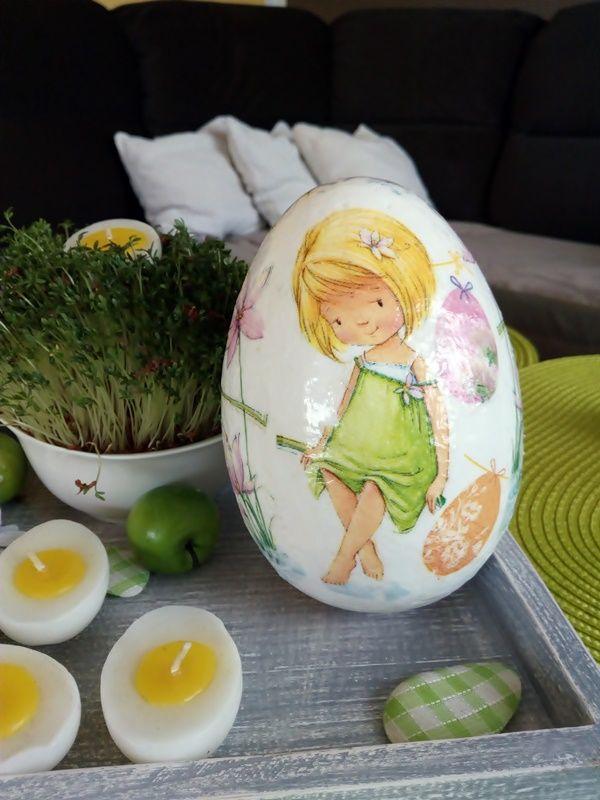 Wielkanocne dekoracje. Zdobienie jaj. Decoupage. | Szysia